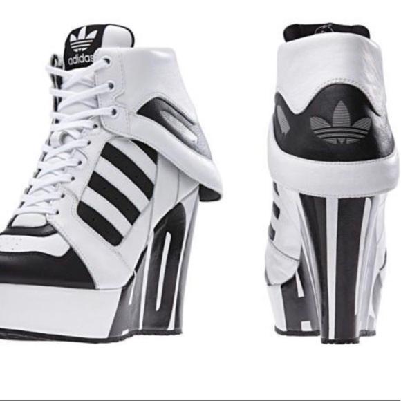 Adidas Jeremy Scott Streetball Platform Wedge